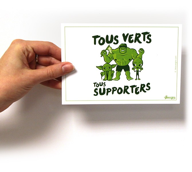 Tous verts tous supporters